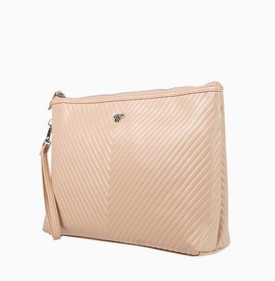 Getaway Large Makeup Case-Pale Pink