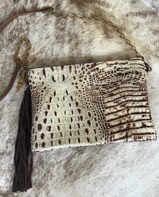Envelope Crossbody Crocodile