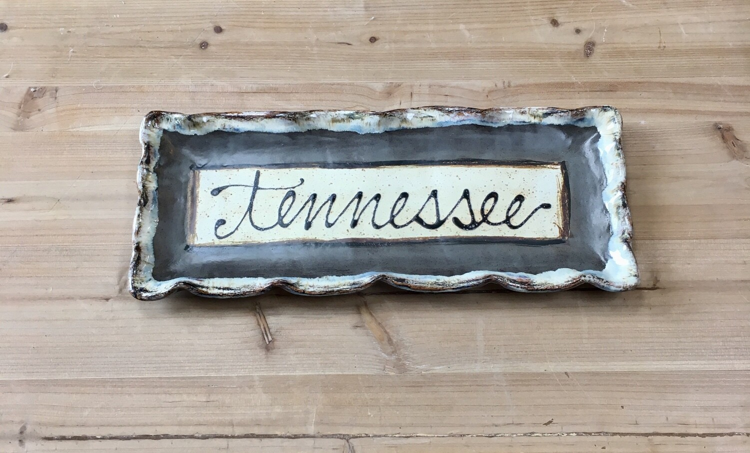Grey Tennessee Tray