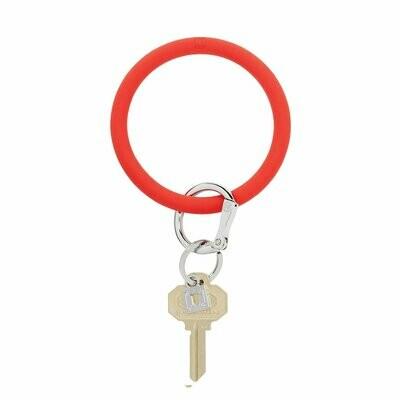 Cherry Silicone Key Ring