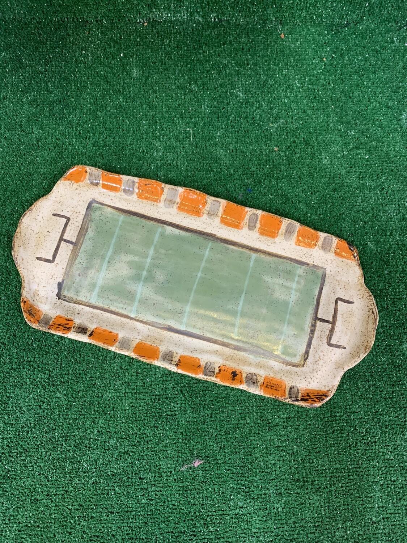 TN Football Field Platter