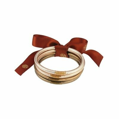Set of Four Fawn Bangles