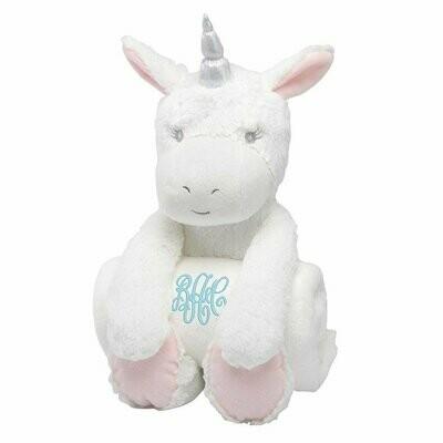 Unicorn Bedtime Huggie with Blanket