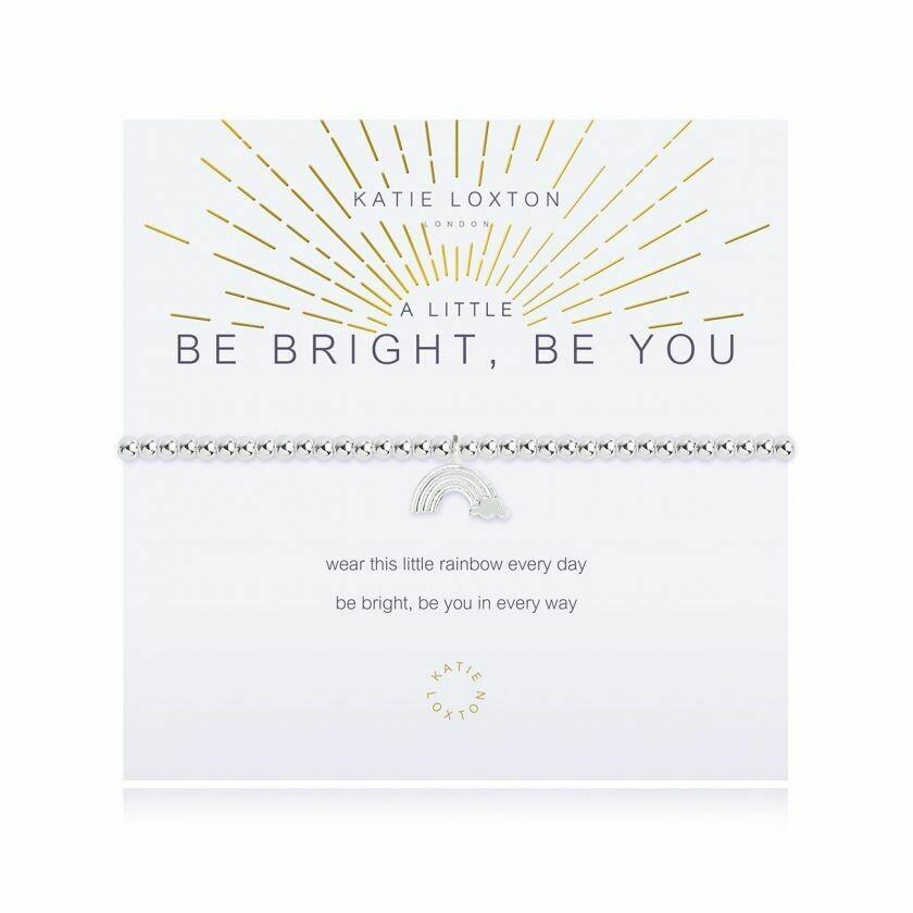 a little Be Bright Be You bracelet