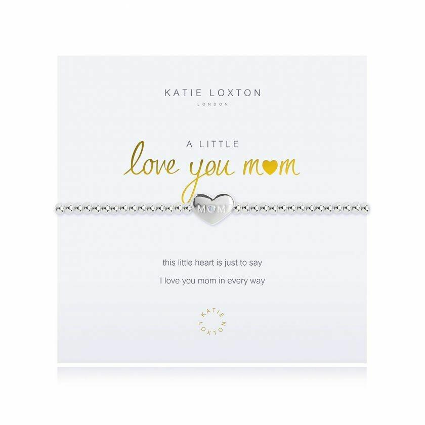 a little Love You Mom bracelet