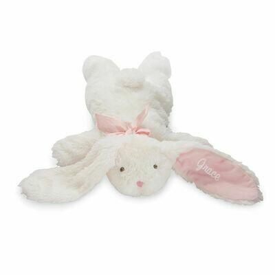 Flat Rabbit Plush Pink