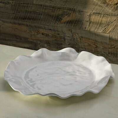 Wavy Round Platter