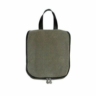 Aspen Grey Men's Hanging Toiletries Case