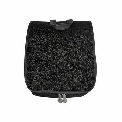 Black Men's Hanging Toiletries Case