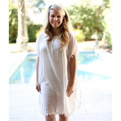 Kaylee Cover-Up-White