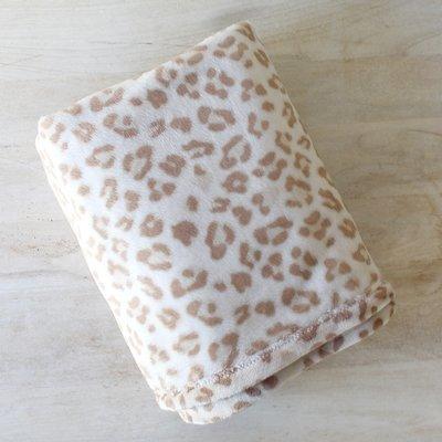 Leopard Plush Throw
