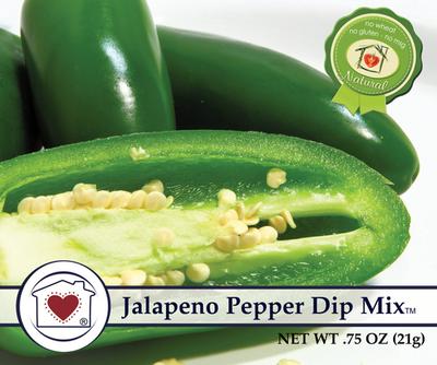 Jalapeno Pepper Dip Mix