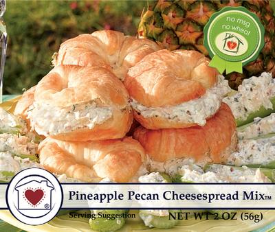 Pineapple Pecan Cheesespread Dip Mix