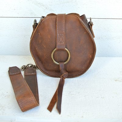 Canteen Crossbody Kodiak Leather