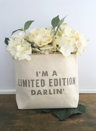 """""""I'm A Limited Edition"""" Zipper Pouch"""