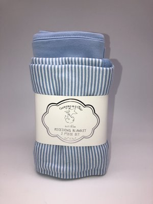Blue Receiving Blankets