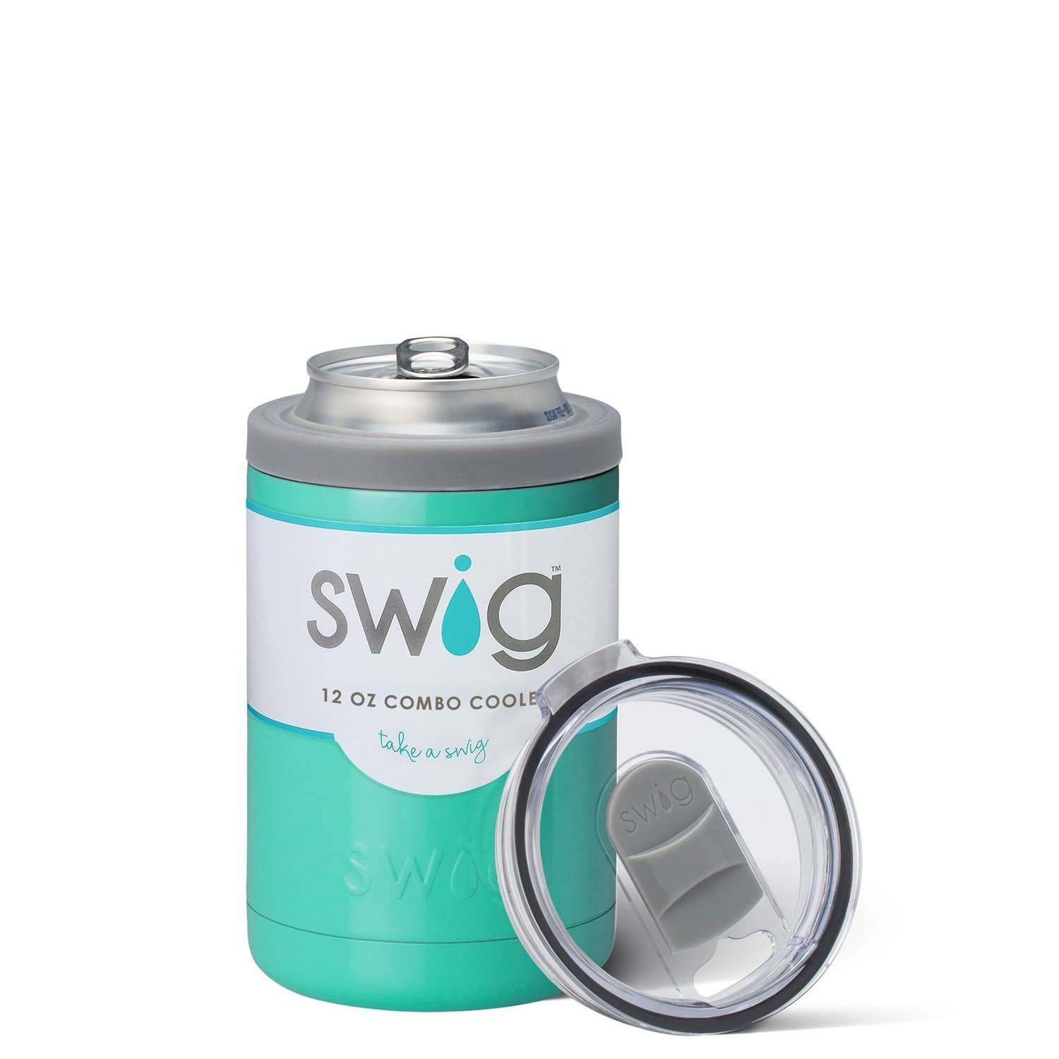 Turquoise 12oz Combo Cooler