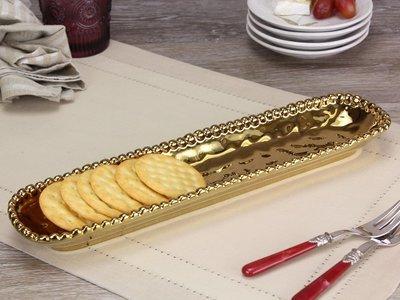 Porcelain Cracker Tay-Gold
