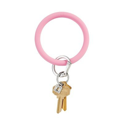 Cotton Candy Silicone Key Ring