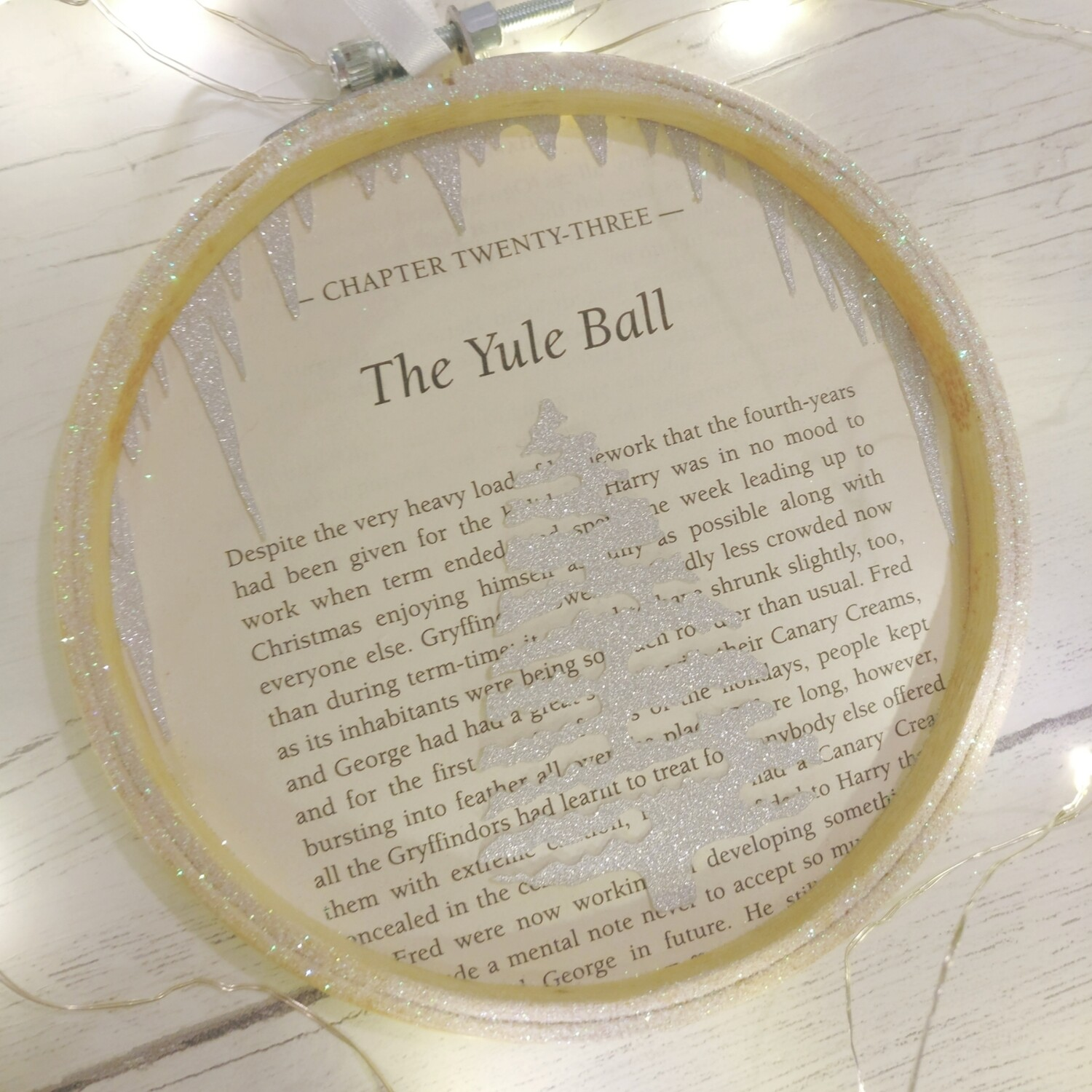 Harry Potter The Yule Ball Christmas Decoration - 13cm