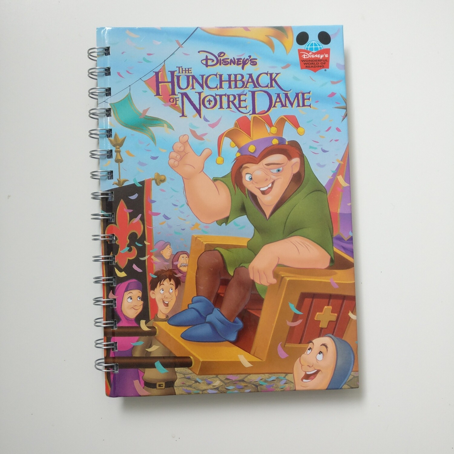 Hunchback of Notre Dame Notebook - READY TO SHIP :  diary and lined