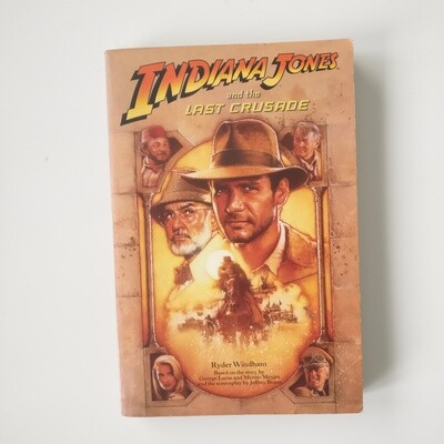 Indiana Jones Notebooks made from paperback books