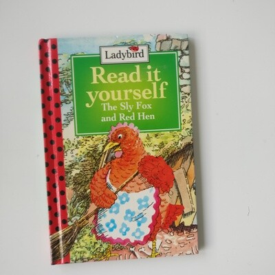 The Sly Fox and  Red Hen Notebook - Ladybird Book