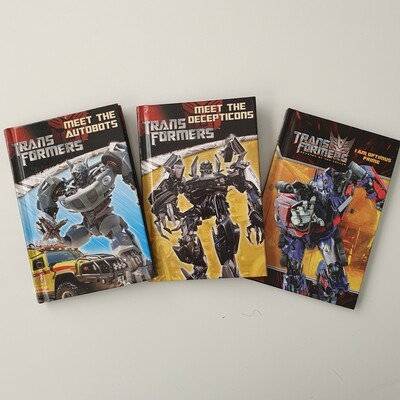 Transformers Notebooks - choose from a variety of covers