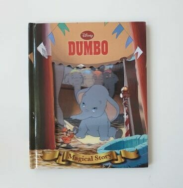 Dumbo Notebook - Lenticular Print / No original book pages