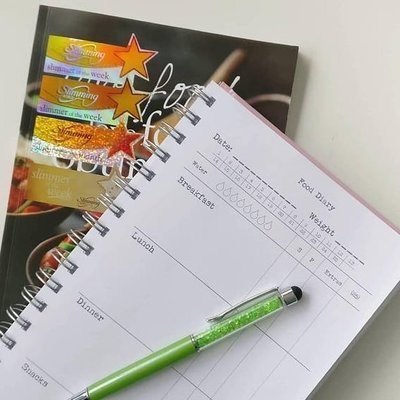 Slimming World Food Diary for men