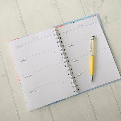 Diary - week per view