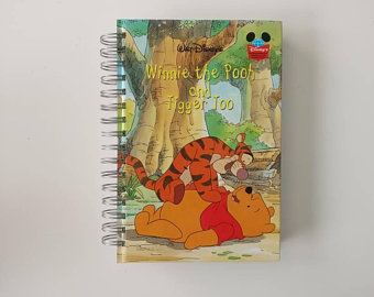 Winnie the Pooh & Tigger Too Notebook