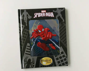 Spiderman Notebook - 3D enamel cover
