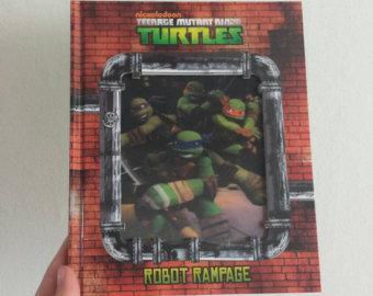 Teenage Mutant Turtles Notebook - Lenticular Print