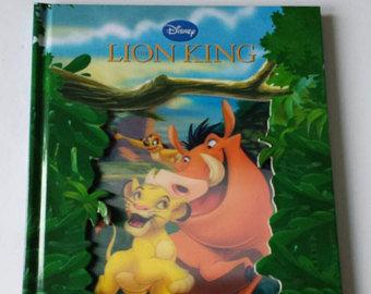 Lion King Notebook - Lenticular Print