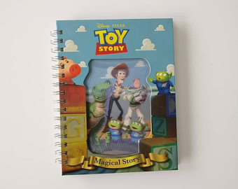 Toy Story Notebook - Lenticular Print