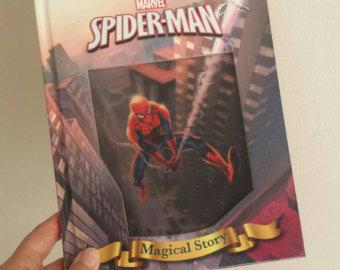 Spiderman Notebook - Lenticular Print