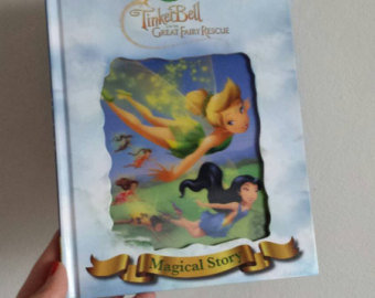 Tinkerbell Fairy Rescue Notebook - Lenticular Print