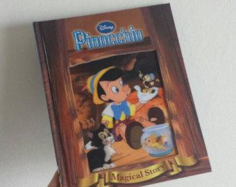 Pinocchio Notebook - Lenticular Print