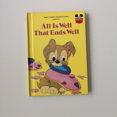 Lady & The Tramp Notebook - All is Well that Ends Well, Scamp