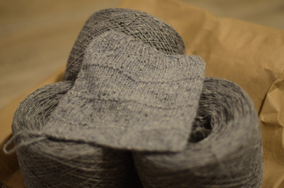 GALANTA Tweed - Silver mist