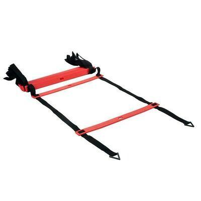 Pro's Pro. Координационная лестница, 4 м, красная