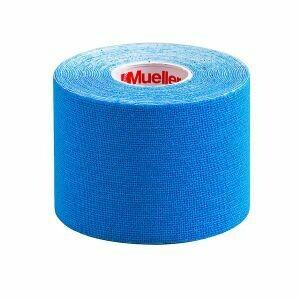 Кинезиотейп Mueller, 5см×5м, голубой