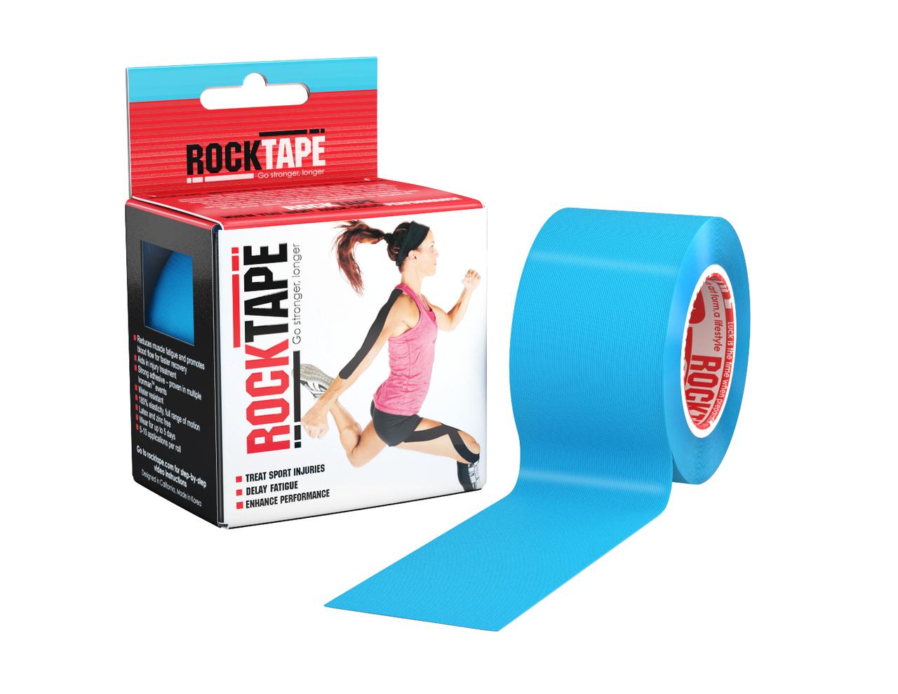 Кинезиотейп Rocktape, голубой (5см х 5м) RCT100 ...