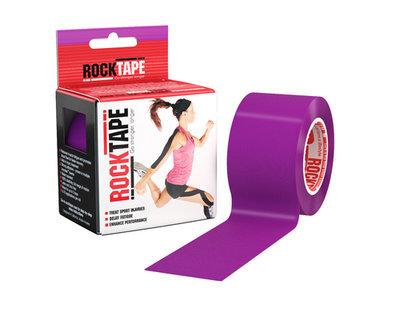 Кинезиотейп RockTape (5см×5м) фиолетовый
