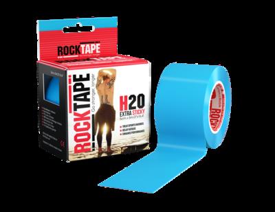 Кинезиотейп RockTape H2O (5см×5м) голубой