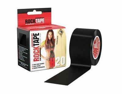 Кинезиотейп RockTape H2O (5см×5м) черный