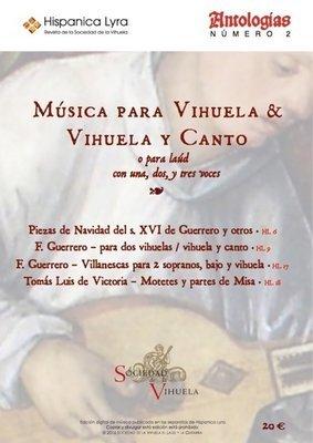 Música para vihuela & vihuela y canto / Music for vihuela & vihuela and voice