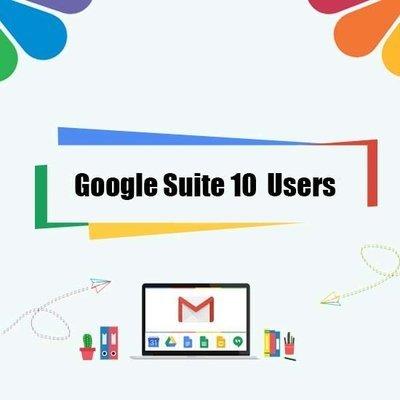 Google Suite Legacy - 10 User