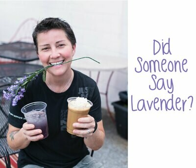 Lavender Vanilla honey latte kit
